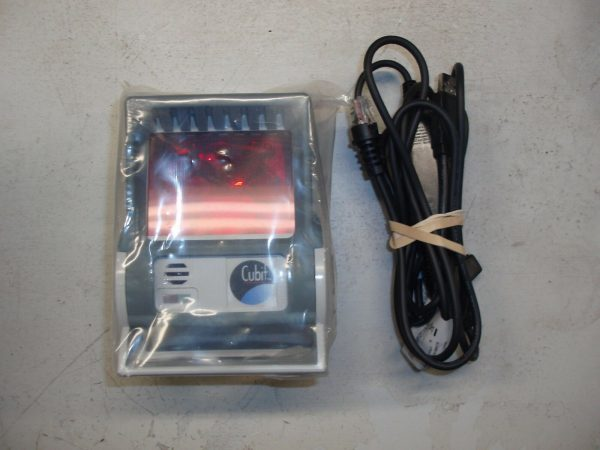 BRAND NEW Honeywell Metrologic Cubit MS6520 USB Omni Barcode Scanner w/ Stand