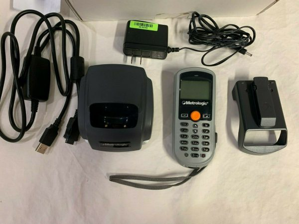 Metrologic Optimus SP5500 Handheld Data Collector (USB and Serial Cables, dock, power supply, battery and REPAIRS done)