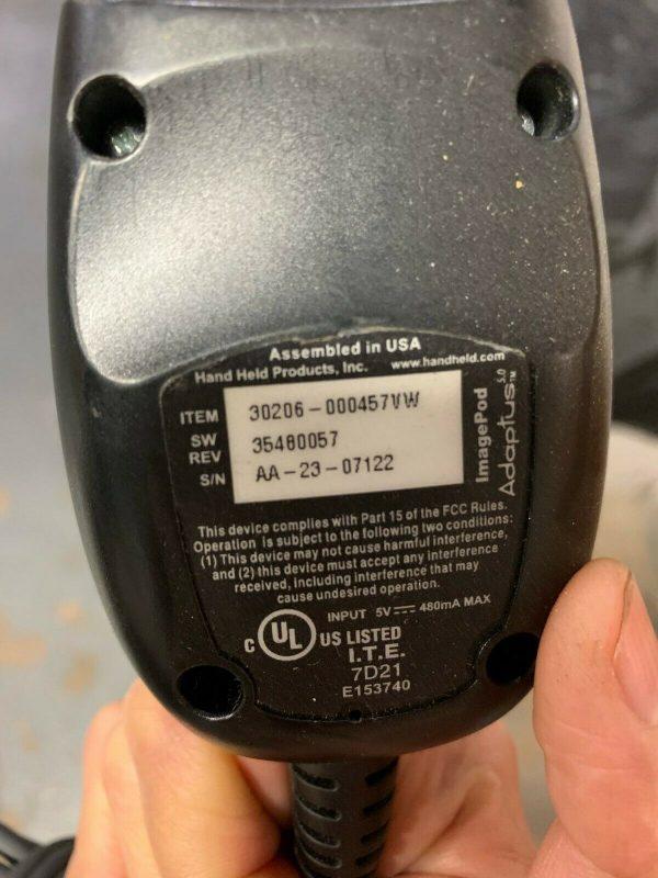 Honeywell Barcode Scanner USB 4800p ImagePod 2D QR EAN PDF417 30206-000457VW